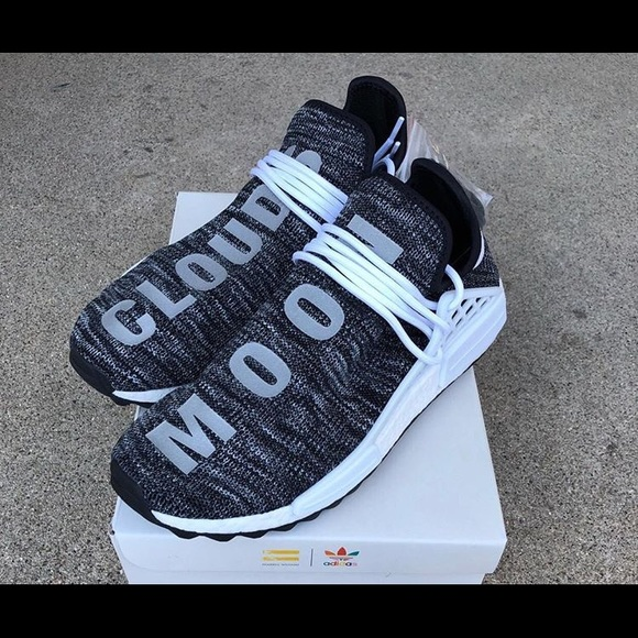"a79d68048 Human Race NMDs Oreo Trail ""Cloud Moon"" Size 10"